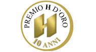Premio H d'oro 10 anni
